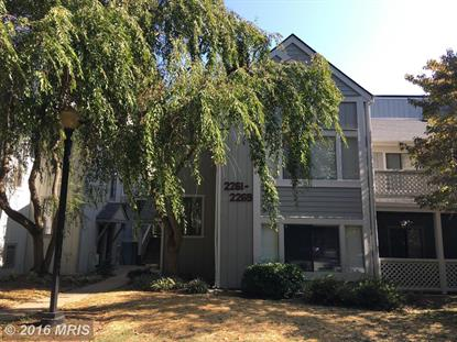 2267 HUNTERS RUN DR #2267 Reston, VA MLS# FX9769786