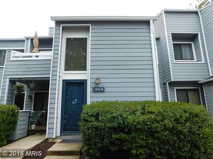 1962 VILLARIDGE DR #B Reston, VA MLS# FX9774508