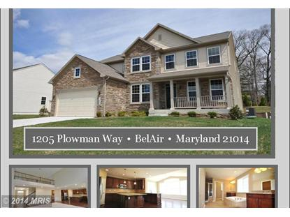 1205 PLOWMAN WAY Bel Air, MD MLS# HR8315834