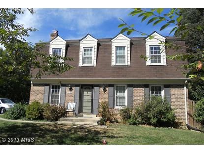 1035 WINDRUSH LN #9 Sandy Spring, MD MLS# MC8191315