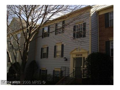 20209 SHIPLEY TER #1-B-10 Germantown, MD 20874 MLS# MC8271922