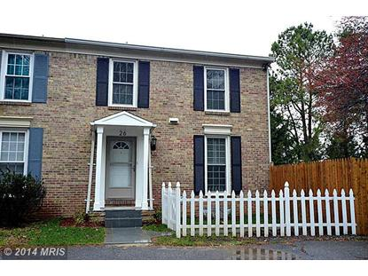 26 NATIVE DANCER CT North Potomac, MD MLS# MC8313019