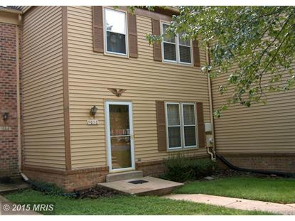 1010 WINDRUSH LN #23 Sandy Spring, MD MLS# MC8397395