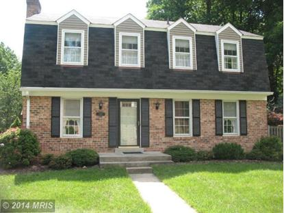 1011 WINDRUSH LN #13 Sandy Spring, MD MLS# MC8516329