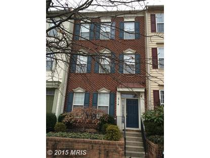 314 CHESTNUT HILL ST Gaithersburg, MD MLS# MC8563011