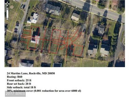 24 MARTINS LN Rockville, MD MLS# MC8576336