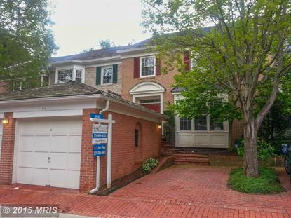 21 MAPLEWOOD PARK CT Bethesda, MD MLS# MC8638189