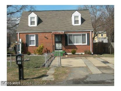 3403 SPRINGDALE AVE District Heights, MD MLS# PG8015121