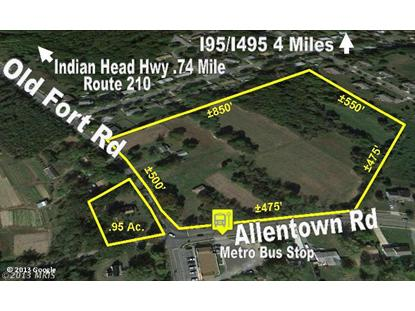 OLD FORT RD Fort Washington, MD MLS# PG8032928