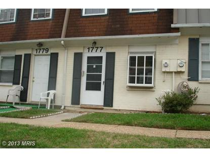 1777 VILLAGE GREEN DR #Y-86 Landover, MD 20785 MLS# PG8205912