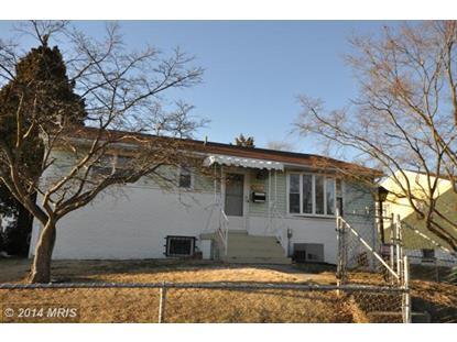 2511 SENATOR AVE District Heights, MD MLS# PG8268011