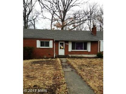 6316 DAVIS BLVD Suitland, MD MLS# PG8288865