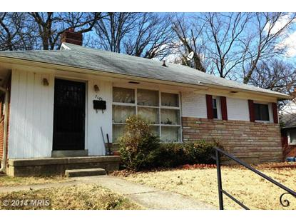 7102 GATEWAY BLVD District Heights, MD MLS# PG8294529