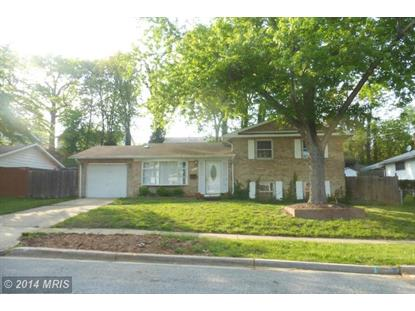 7322 OAKCREST DR New Carrollton, MD MLS# PG8386292