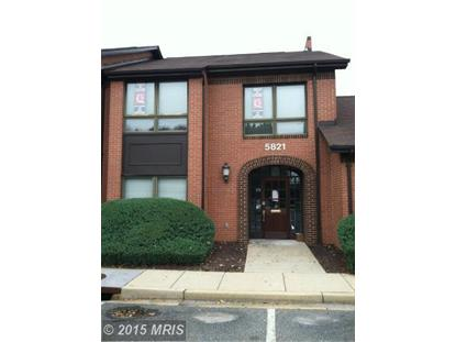 5821 ALLENTOWN RD #3 Suitland, MD MLS# PG8393087