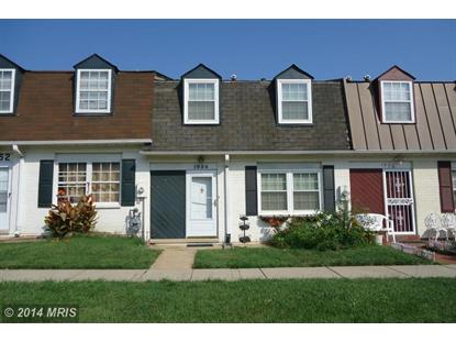1954 VILLAGE GREEN DR #G-185 Landover, MD 20785 MLS# PG8407075