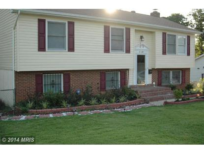 2007 PORTER AVE Suitland, MD MLS# PG8411815