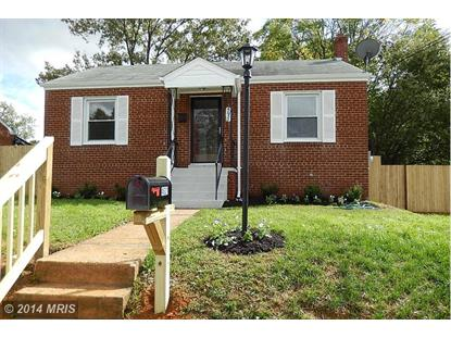 4631 BROMLEY AVE Suitland, MD MLS# PG8481827