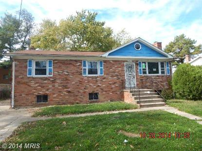 2711 BOONES LN District Heights, MD MLS# PG8518989