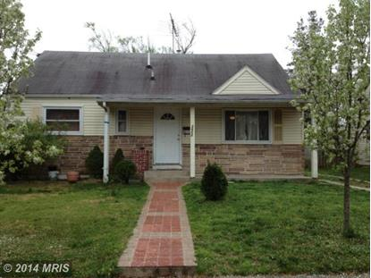 2602 MILLVALE AVE District Heights, MD MLS# PG8521184