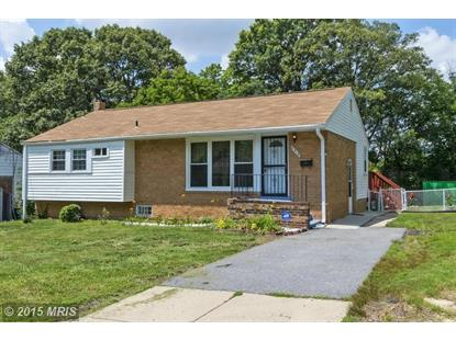 5818 89TH AVE New Carrollton, MD MLS# PG8547850