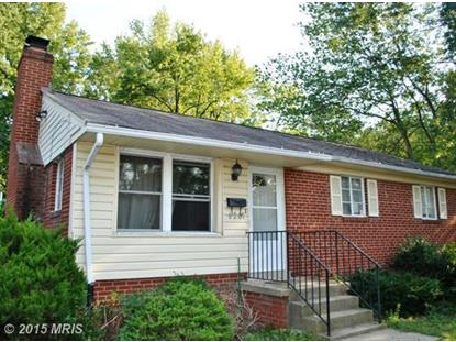 6201 SEMINOLE PL Berwyn Heights, MD MLS# PG8600488