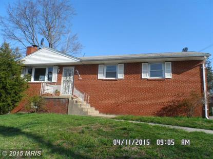2516 FORT DR Suitland, MD MLS# PG8600549