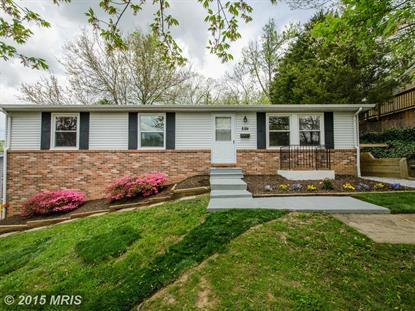 5704 GOUCHER DR Berwyn Heights, MD MLS# PG8621910