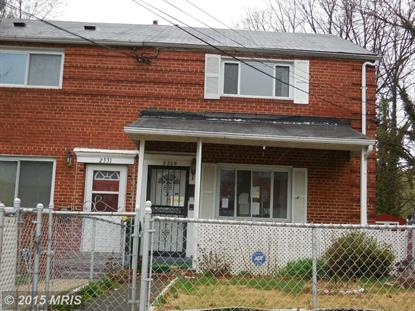 2329 GAYLORD DR Suitland, MD MLS# PG8622415