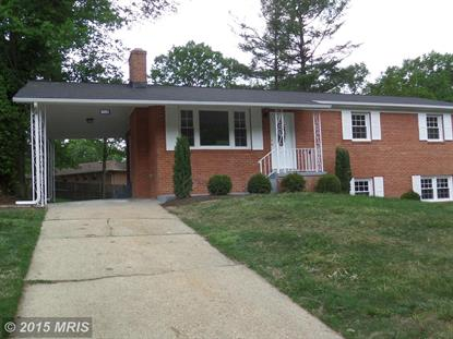6003 WESSON DR Suitland, MD MLS# PG8634439