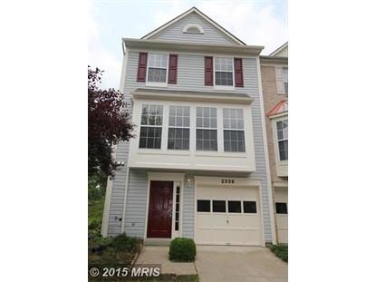 2339 WHITE OWL WAY Suitland, MD MLS# PG8684348
