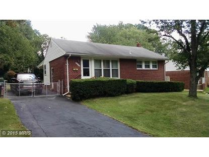 8215 QUENTIN ST New Carrollton, MD MLS# PG8722859