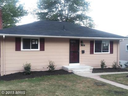 7419 PARKWOOD ST New Carrollton, MD MLS# PG8730840