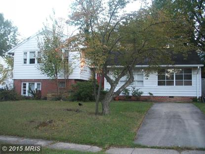8509 OLIVER ST New Carrollton, MD MLS# PG8757237
