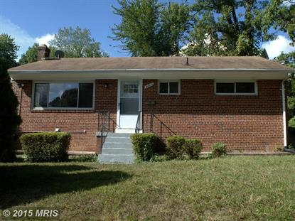 3804 65TH AVE New Carrollton, MD MLS# PG8758733