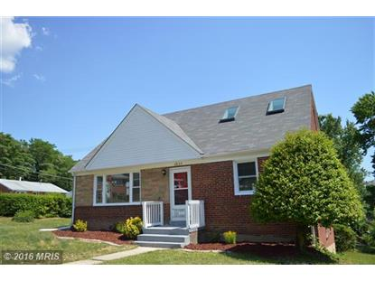 4809 MOSS PL Suitland, MD MLS# PG9700680