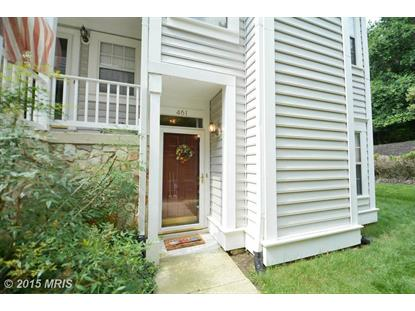 461 FORTRESS WAY #461 Occoquan, VA MLS# PW8698922