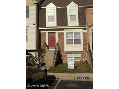 1926 INGLEBROOK DR Woodbridge, VA MLS# PW8767521
