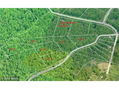 HOLLY CORNER RD. Fredericksburg, VA MLS# ST8274712
