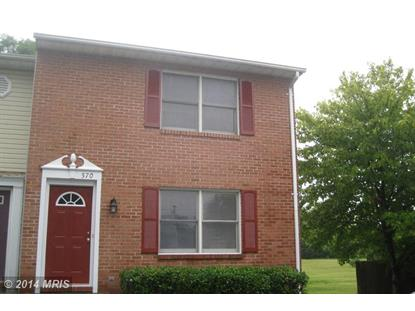 570 YORK AVE Winchester, VA 22601 MLS# WI8431345