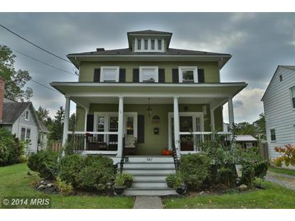687 NATIONAL AVE Winchester, VA MLS# WI8459212