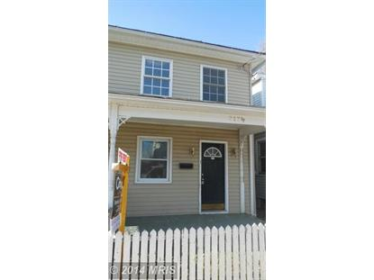 317 HIGHLAND AVE #317 1/2 Winchester, VA 22601 MLS# WI8505239