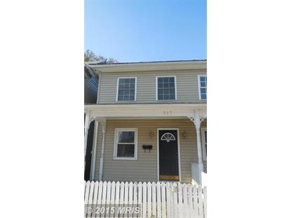 317 HIGHLAND AVE #317 Winchester, VA 22601 MLS# WI8505242