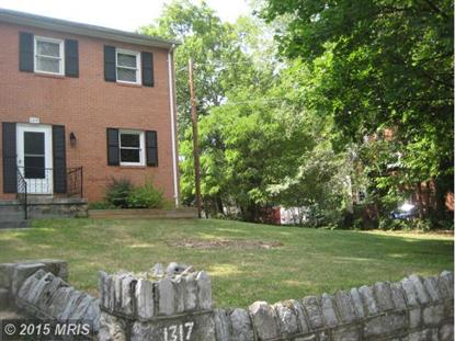 1317 VALLEY AVENUE Winchester, VA 22601 MLS# WI8541848