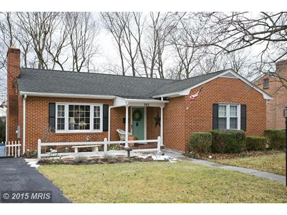 541 BELLVIEW AVE W Winchester, VA MLS# WI8554803