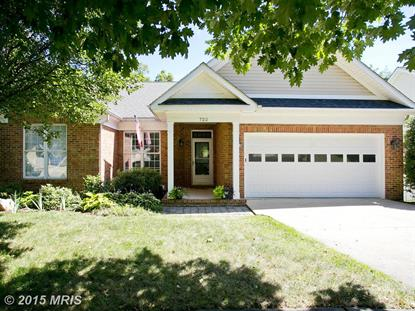 722 STERLING DR Winchester, VA MLS# WI8721969