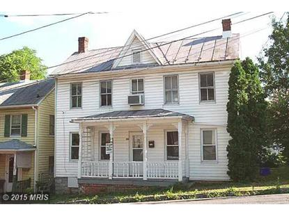 115 MONMOUTH ST Winchester, VA 22601 MLS# WI8722797