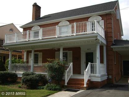 637 TENNYSON AVE Winchester, VA MLS# WI9516104
