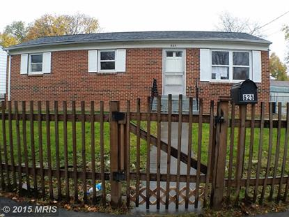 625 BUTLER AVE Winchester, VA MLS# WI9527651