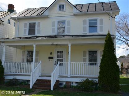 1321 S LOUDOUN ST Winchester, VA MLS# WI9600995